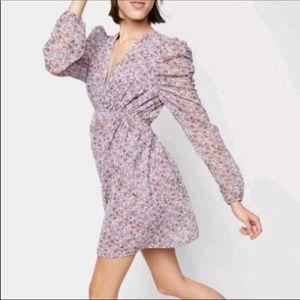 Wild Fable Puff Sleeve Mini Dress